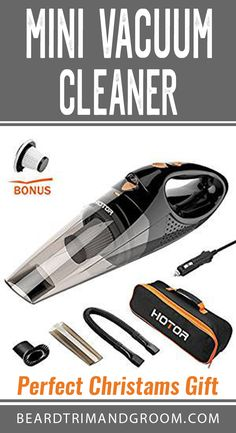 Mini vacuum cleaner can be a great gift for Christmas or birthday. Ideal present for your men and husband, boyfriend, dad, grandpa, boyfriend. Christams Gifts, Christmas Gifts For Boyfriend, Christmas Gifts For Friends, Boyfriend Gifts, Best Dad Gifts, Gifts For Dad, Beard Accessories, Best Small Cars, Funny Gifts For Friends