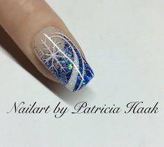 Nail art designs – Famous Last Words Snow Nails, Xmas Nails, New Year's Nails, Winter Nails, Christmas Nails, Summer Nails, Hair And Nails, Christmas Nail Art Designs, Holiday Nail Art