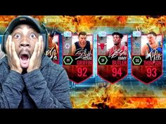 CRAZIEST SIGNATURE PACK OPENING EVER SEEN! NBA Live Mobile 16 Gameplay Ep. 83 - YouTube Nba Live, Basketball Games, Youtube, Fictional Characters, Basketball Plays, Youtubers, Youtube Movies