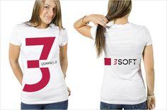 3SOFT  Brand Identity & Webdesign by Ola Grzeganek, via Behance