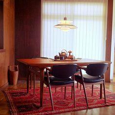 クイストゴー,アラビア,デンマーク家具,ダイニングテーブル,ヨハネス アンダーセン,チーク,カイ クリスチャンセン,DANSK,北欧ヴィンテージ,Lounge,北欧,中古住宅,ダイニングチェア,デザイナーズ,キリム,ラグ eijiの部屋