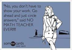 For all those who teach math. #learnmathforadults
