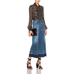 The Ten Best Cropped Flared Jeans // #6 Citizens of Humanity Melanie Cropped Wide Leg Jeans // Check out the rest of the best here!