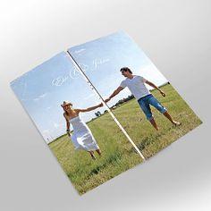Custom Designed Gatefold Photo Wedding Invitation von belladancerws, $89.00