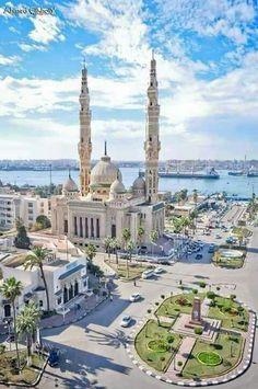 Masjid Port-Fouad Sur Le Canal De Suez - Égypte