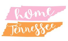 Tennessee Decal by PrettyLettersShop on Etsy