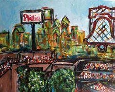 """Citizens Bank Park"" by Brett Miller"