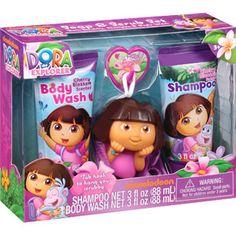Nickelodeon Dora the Explorer Soap & Scrub Set, 3 pc