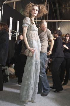 Christian Dior Fall 2010 - Backstage