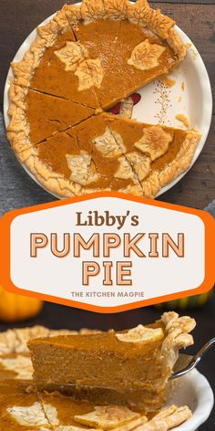 This is the original Libby's® Famous Pumpkin Pie recipe that has been on the label of Libby's® canned pumpkin since the 1950's! Libbys Pumpkin Pie, Libby's Pumpkin, Pumpkin Pie Mix, Pumpkin Cookies, Canned Pumpkin, Original Pumpkin Pie Recipe, Libby's Famous Pumpkin Pie Recipe, Pumpkin Pie Recipes, Easy Desserts