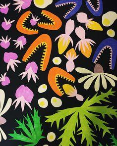swenokur: ✂️✂️✂️✂️✂️✂️✂️️ #pattern #textiledesign #surfacedesign