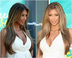 Celebrities' Looks – Kim Kardashian Best Hair Styles 2014 with Remy Human Hair Extensions