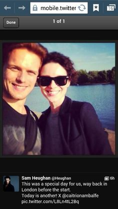 See? Sam's hair really is red!