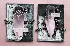 Fancy feathers by Riikka Kovasin for Prima Marketing