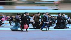 The Others  Visual short by Hiroshi Kondo applies time-based motion effects on footage of busy pedestrian traffic crossing:prosthetic knowledge