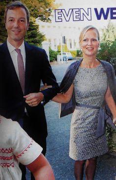 We zien ze niet vaak Carolina en haar man Albert Brenninkmeijer (belangrijke erfgenaam C&A imperium).