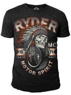 Ryder Supply Clothing Navajo T-shirt (Black)