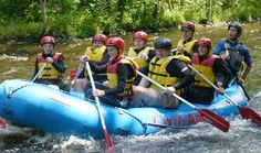 Half-Day Family Rafting Trip on The Deerfield River