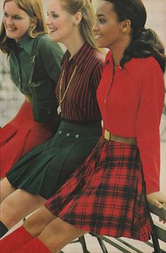 'A fanfare of pleats heralds the shape of things to come.' - #Seventeen (1969)