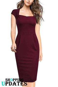 The Effective Pictures We Offer You About Bodycon Dress prom A quality pic Classy Work Outfits, Classy Dress, Chic Outfits, Affordable Prom Dresses, Formal Dresses, Women's Dresses, Pencil Dress Outfit, Pencil Dresses, Look Formal