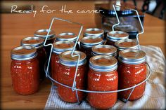 How to.. and recipe for canning salsa