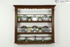 Plate Rack Wall, Plate Shelves, Plate Racks, Plates On Wall, Shelf, Plate Display, Display Shelves, Shelving, Georgian Furniture