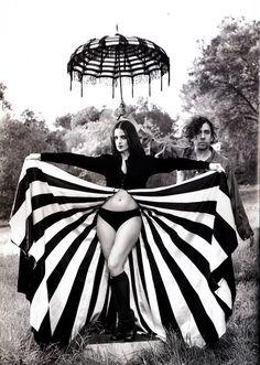 Tim Burton and Lisa Marie by Mary Ellen Mark 1997