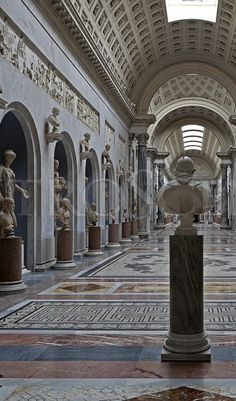 Vatican Museum, Rome, Italy. Click through the link to view a more detailed image.