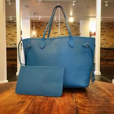 Louis Vuitton Epi Neverfull just in! To purchase this FABULOUS bag before it goes on our website, call/text us at 813-382-9491!! 💙