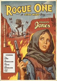 Rogue One Vintage Poster Art #starwars #awesome #epic