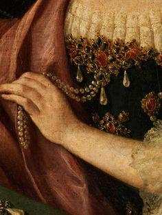 Alessandro Longhi,  Venedig 1733 - 1813, zug. PORTRAIT OF A CLASSY LADY(detail)