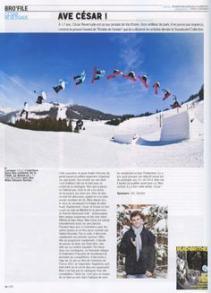 BeachBrother - French Magazine - César Reversade - Snow Team - Nov12