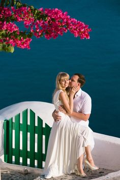 Santorini, Greece, honeymoon