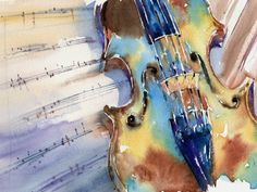 Andrew Geeson Violin - great article on lead-ins to your painting. https://www.arttutor.com/blog/201606/how-exploit-lead-ins-when-composing-your-painting