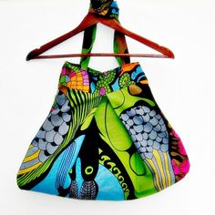 Large fabric tote recycled fabrics long handled by Martisanne, £26.45