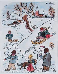Children's Book Illustration, Illustrations, Illustration Children, White Christmas, Christmas Crafts, Maurice Sendak, I Love Winter, Beatrix Potter, Childrens Books