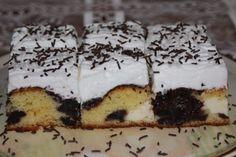 Výborný koláč s tvarohom a slivkovým lekvárom