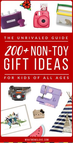 Non material christmas gifts for kids