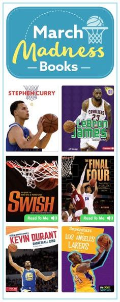 March Madness Books for Kids! A reading list that's a slam dunk for basketball lovers (affiliate)