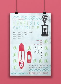 Chelsea Lundy (Ottawa)  Level Six Capital Cup poster, 2015