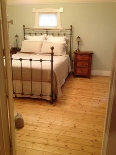 French Oak with Hardwax Oil Matt Baltic Pine with Hardwax Oil Classic After … Bed, Flooring, Furniture, Pine Floors, House, Pine, Home Decor, French Oak, Floorboards