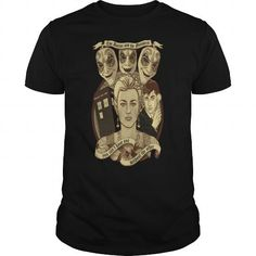 Cool The doctor and the monsters monsters t shirt T-Shirts