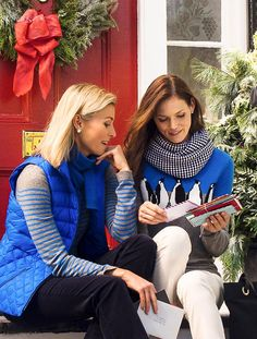 What to wear with my Talbots penguin sweater Fall Winter Outfits, Autumn Winter Fashion, Niki Taylor, Hi Fashion, Christmas Fashion, Talbots, Sisters, Cute Outfits, Women Wear