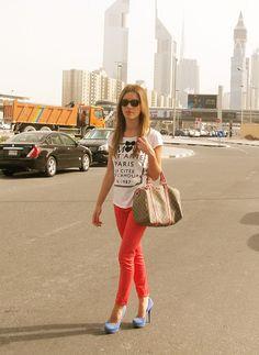 Orange Pants, Jet'aime Paris