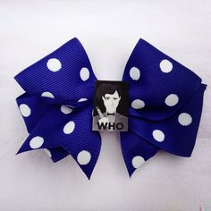 Doctor Who Hair Bow