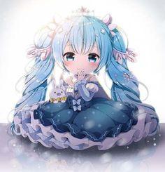 A girl with a cruel fate reincarnates in another fantasy world based … Kawaii Anime Girl, Kawaii Chibi, Anime Girl Cute, Anime Art Girl, Miku Chibi, Cute Anime Chibi, Chica Anime Manga, Chibi Girl, Anime Girl Drawings