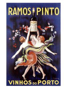 Ramos Pinto Porto Giclee Print by Leonetto Cappiello at Art.com