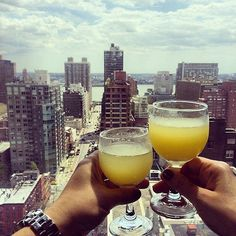 Sunday mornings are made for mimosas at the Dumont NYC! #SundayFunday Instagram by @oreovilarino