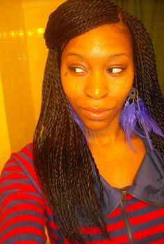 @Darian Lu Lu Tibbitts~senegalese twist | Senegalese Twist
