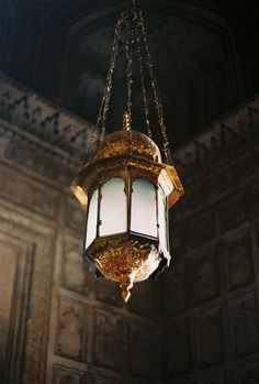 """Fanoos"" : Old Chandelier in Badshahi Mosque, Lahore- Pakistan."